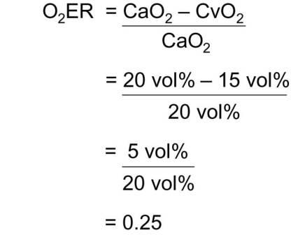 Oxygen Transport Values